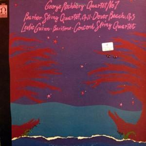 [Concord String Quartet - Rochberg: Quartet No. 7 / Barber: String Quartet, Op. 11; Dover Beach]