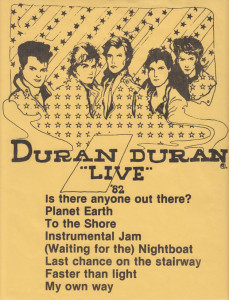 [Duran Duran - Live '82]