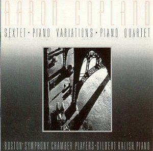 [Aaron Copland - Sextet / Piano Variations/ Piano Quartet]