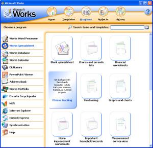 [Microsoft Works]