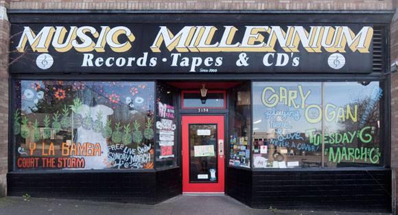 [Music Millennium]