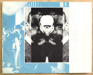[Art of Noise - In Visible Silence LP inner sleeve]