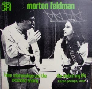 [Morton Feldman - The Viola in My Life]
