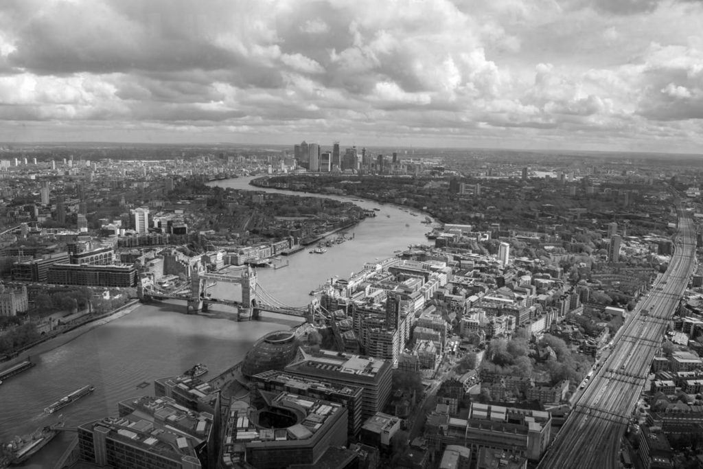 [A view of London from atop the Shard, 2019-04-29]
